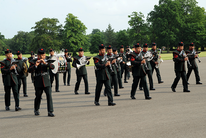 The Band of the Gurkhas