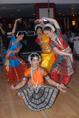 Dancers of Bharatiya Vidhya Bhawan